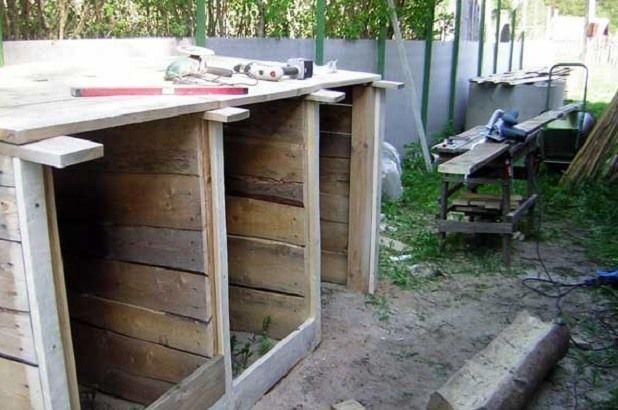 Ящик для компоста своими руками