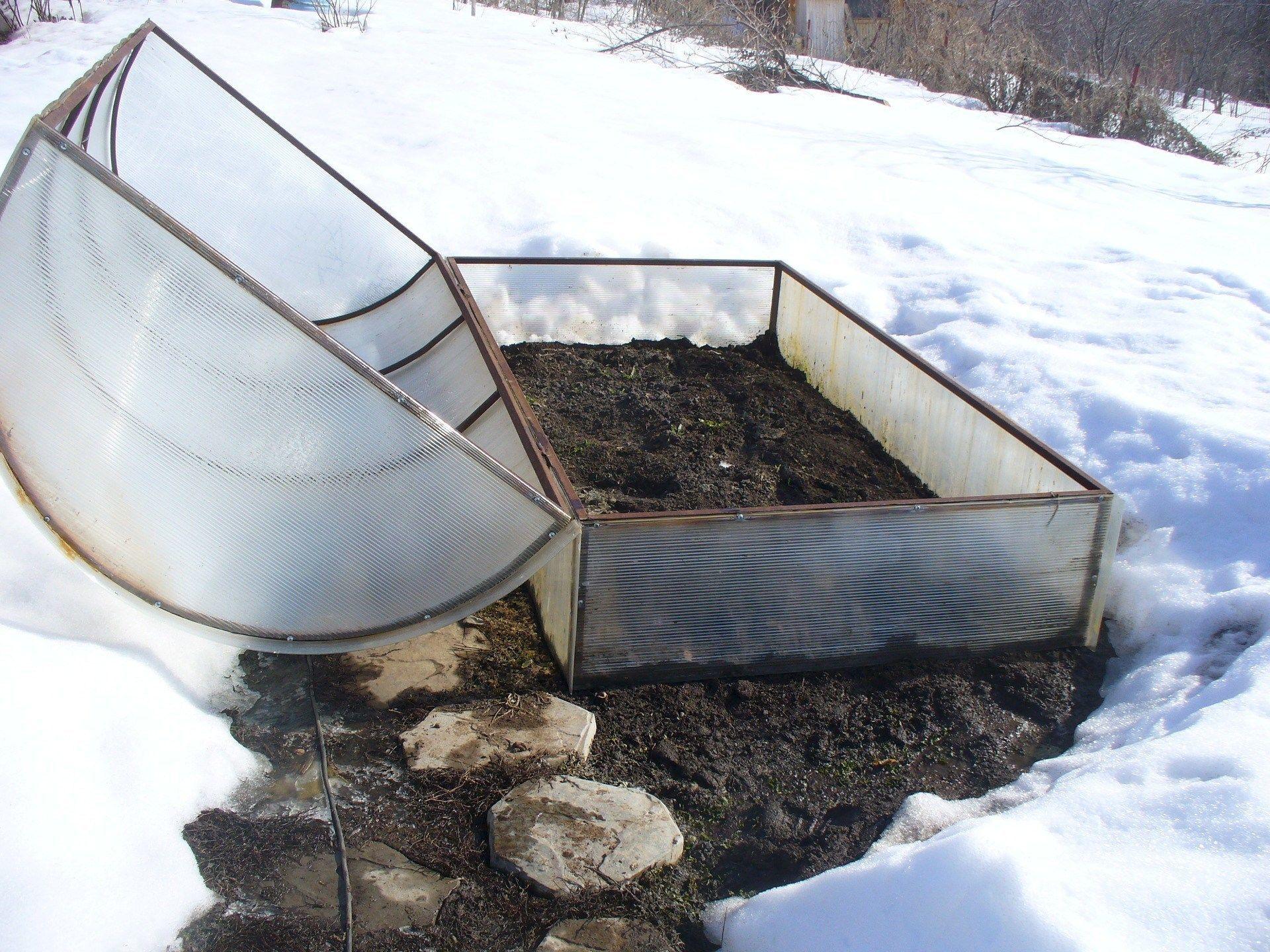 ЭМ компост зимой