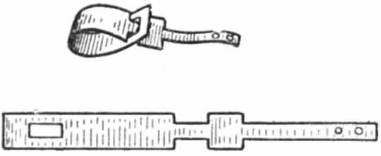 Ногавка из тканевой ленты