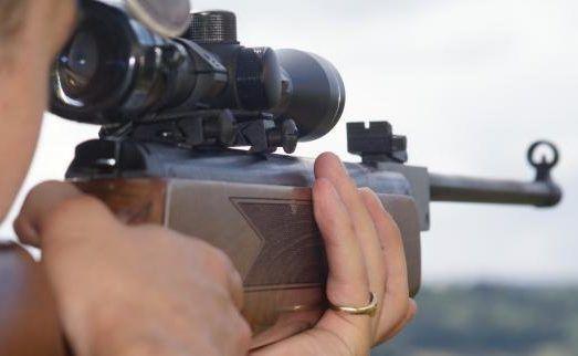 Охота с пневматической винтовкой