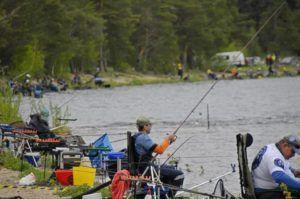 Озеро для ежегодного рыболовного турнира
