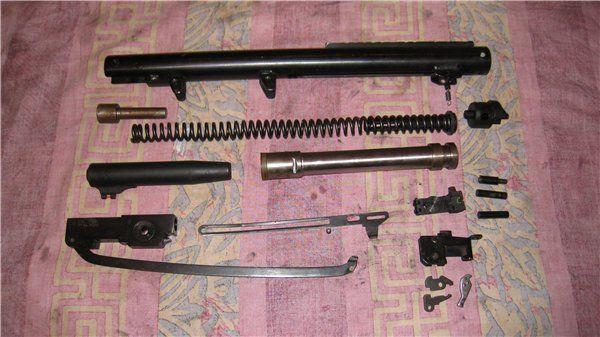Разобранная винтовка Хатсан 125
