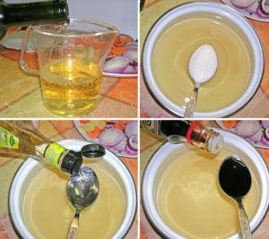 Маринад с белым вином