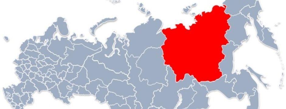 Республика Саха (Якутия) на карте России