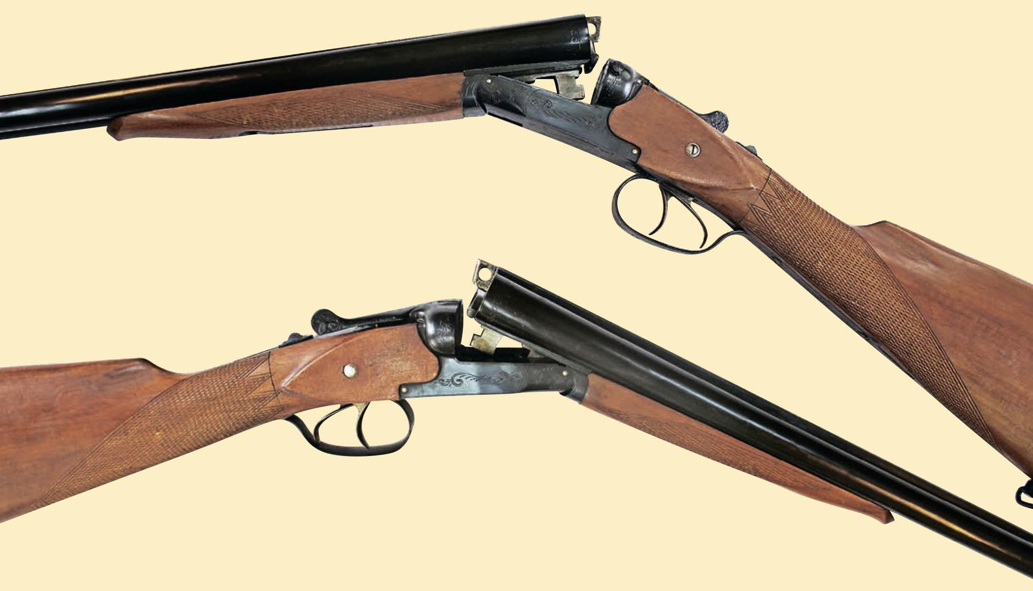 Ружьё ТОЗ-25 с открытым блоком стволов