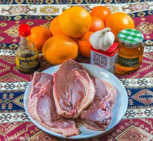 Утиная грудка и апельсины