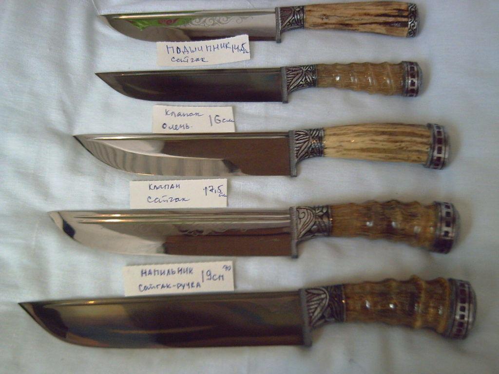 Ножи для забоя птиц должны быть с не скользкой рукояткой