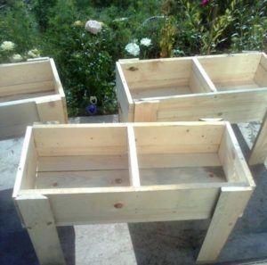 Простые гнезда - ящики