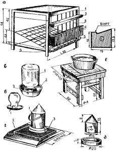 Оборудование для содержания домашней птицы