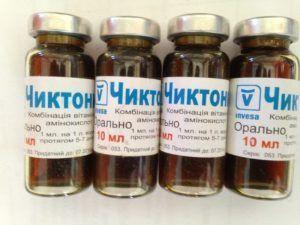 Препарат Чиктоник во флаконах на орального применения