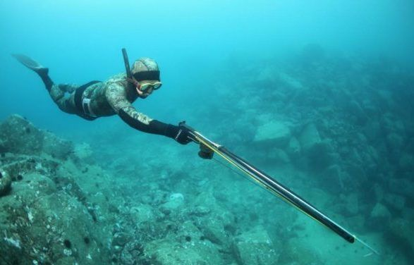 Морская подводная охота