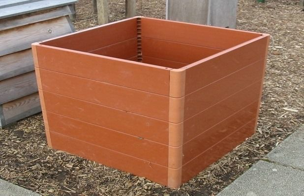 Ящик для компоста пластиковый