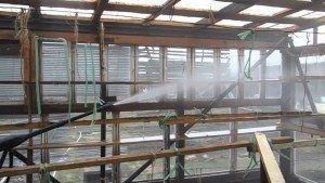Обработка теплиц раствором медного купороса
