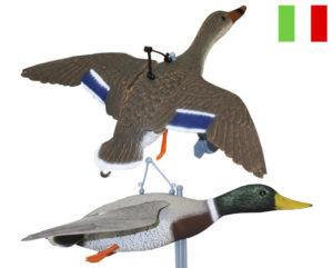 Чучела летящей утки (надувные)