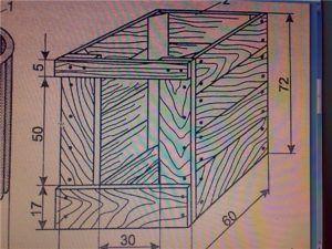 Самодельное гнездо из фанеры (чертеж)