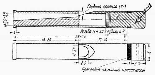 Схема для изготовления манка