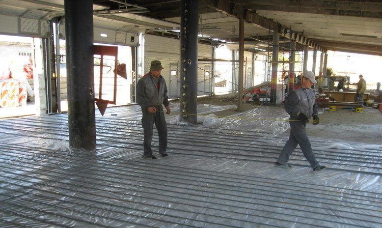 Большой (промышленный) индюшатник на этапе строительства