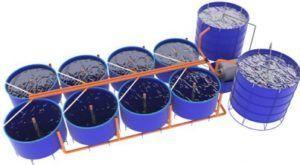 Бассейны для рыбоводства, автокормушки, инкубаторы