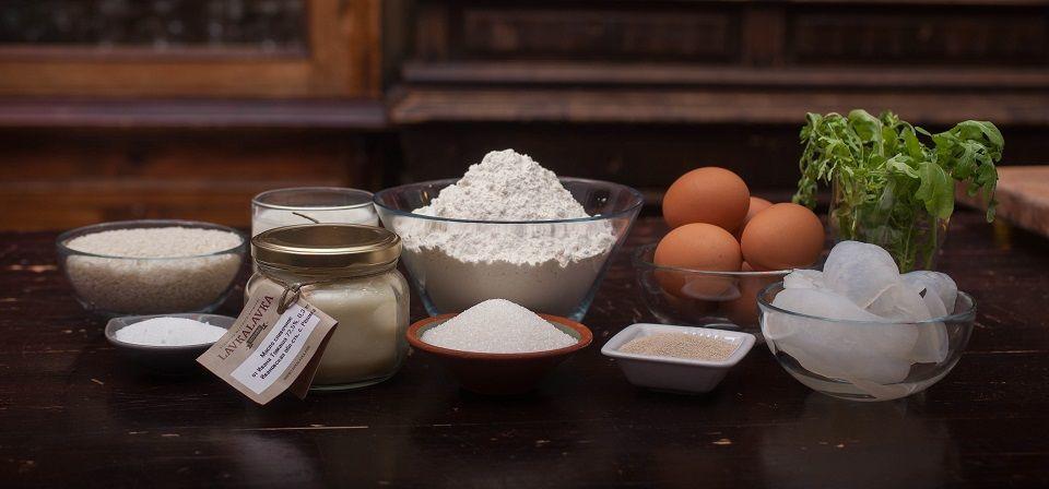 Ингредиенты для пирожков с визигой