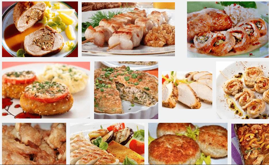 Из индейки можно приготовить множество блюд