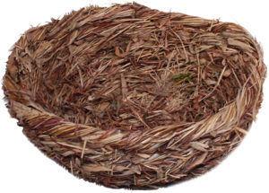 Солома или сено подходят для гнездования